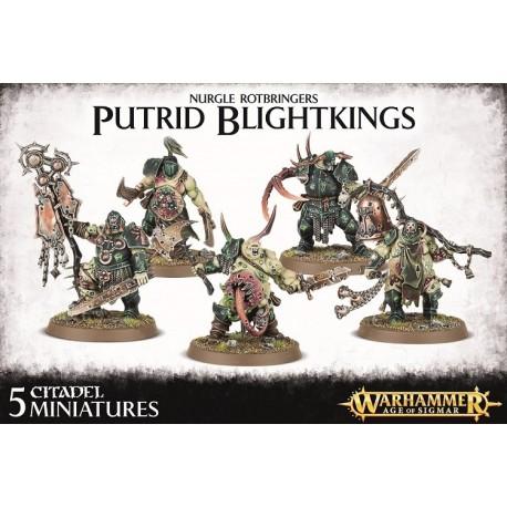 Nurgle Rotbringers Putrid Blightkings
