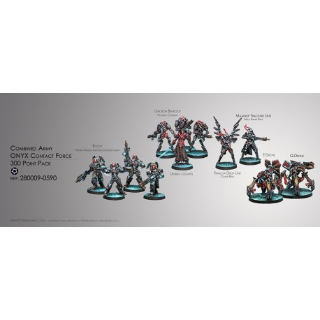 Combined Army Onyx Contact Force 300pts Pack