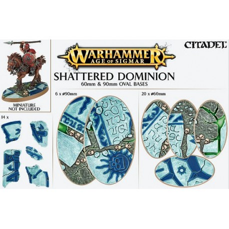 Aos: Shattered Dominion: 60 & 90Mm Oval