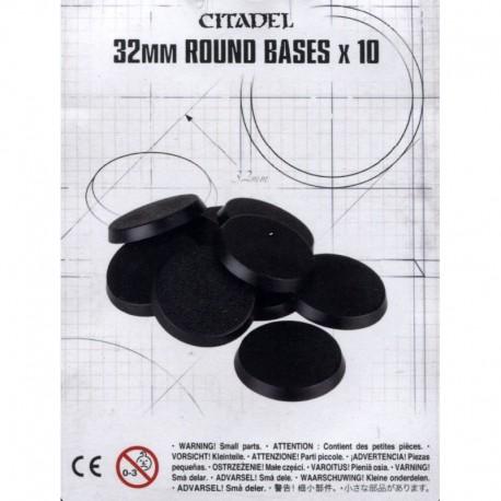 Citadel 32mm Round Bases
