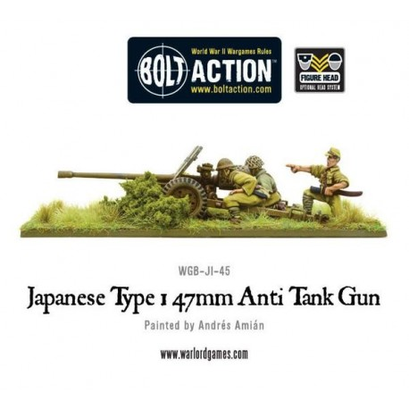 Imperial Japanese Type 47mm Anti Tank Gun