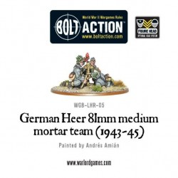 German Heer 81mm Medium Mortar