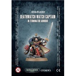 Deathwatch Watch Capt./Terminator Armour