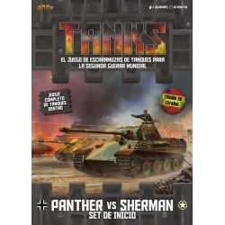 Tanks: Set de Inicio Panther vs Sherman (Español)