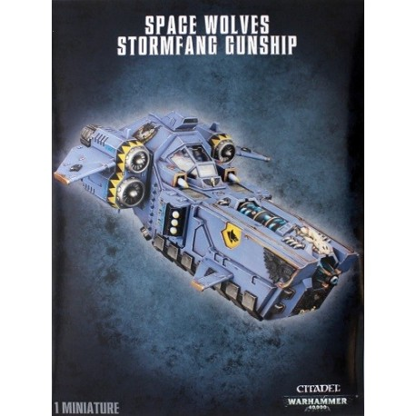 Space Wolves Stormfang Gunship