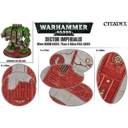 Sector Imperialis: 60mm Rd+75/90mm Oval Bases