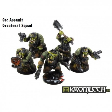 Orc Assault Greatcoat Squad (10)