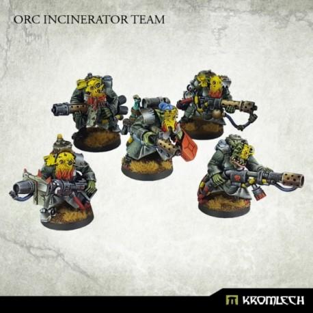 Orc Incinerator Team