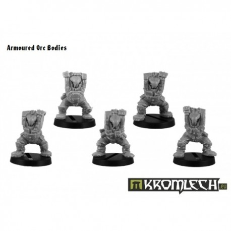 Armoured Orc Bodies (5)