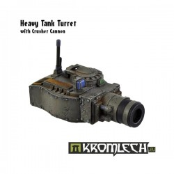 Heavy Tank Turret With Crusher Cannon