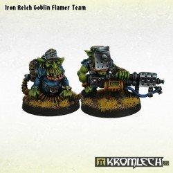 Iron Reich Goblin Flamer Team