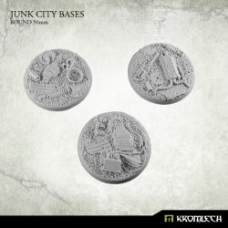 Junk City Bases Round 50mm(3)