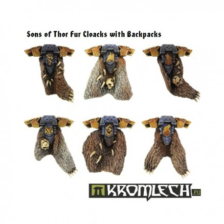 Sons of Thor Fur Cloacks with Backpacks (6)