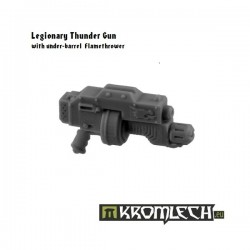 Legionary Thunder Gun with under barrel flamethrower (5)