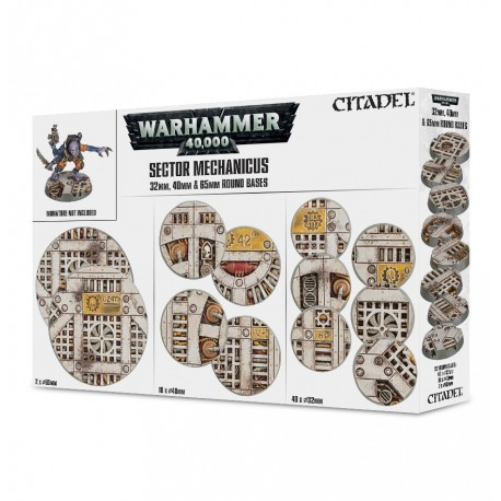 Sector Mechanicus: Peanas industriales