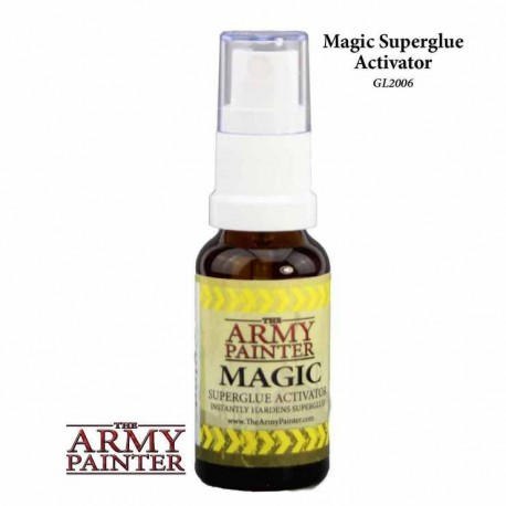 Magic Superglue Activator - Alcohol