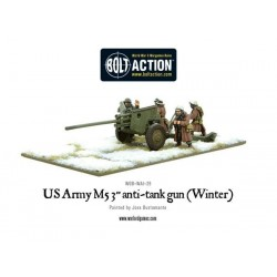 US Army 3-inch anti-tank gun M5 (Winter)
