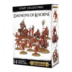 Start Collecting! Demonios de Khorne