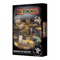 Barricadas y objetivos de Necromunda