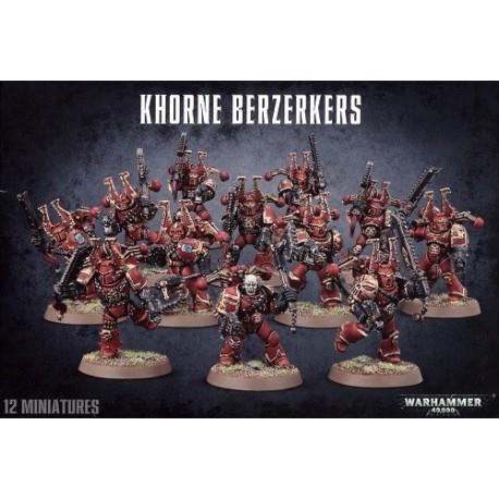 Escuadra De Berserkers De Khorne
