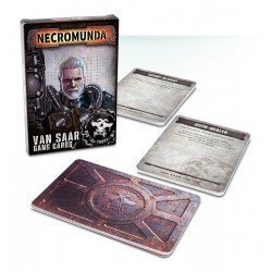 Necromunda: Van Saar Gang Cards (español)
