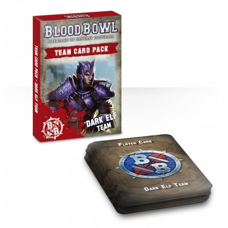Blood Bowl: Dark Elf Cards (español)