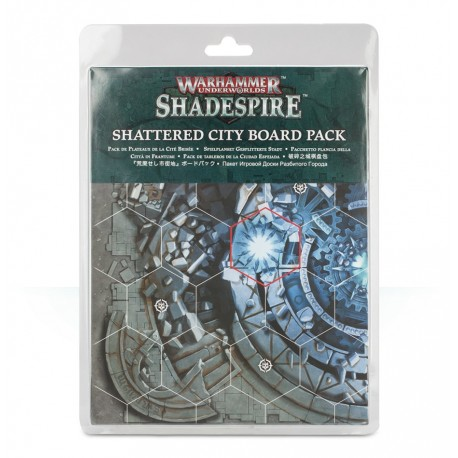 Shadespire: Shattered City Board Pack