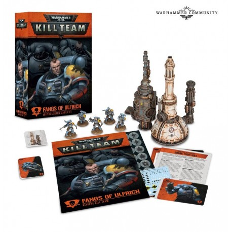 Kill Team: Fangs of Ulfrich (español)