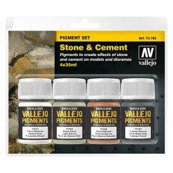 Set de pigmentos: piedra y cemento