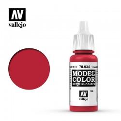 Rojo Transparente - 17 ml