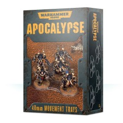 Apocalypse: bandejas de movimiento 40mm