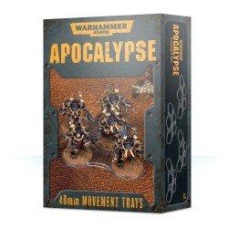 Apocalypse: bandejas de movimiento 40mm