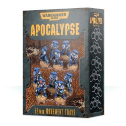 Apocalypse: bandejas de movimiento 32mm