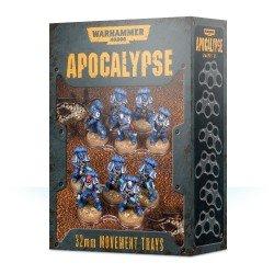 Apocalypse: bandejas de movimiento 32mm