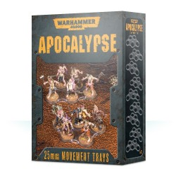 Apocalypse: bandejas de movimiento 25mm