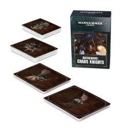 Datacards: Chaos Knights (español)