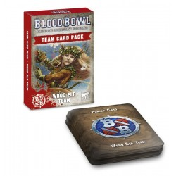 Blood Bowl: Wood Elves Card Pack (SOLO EN INGLES)