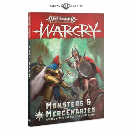 Warcry: Monsters & Mercenaries (inglés)