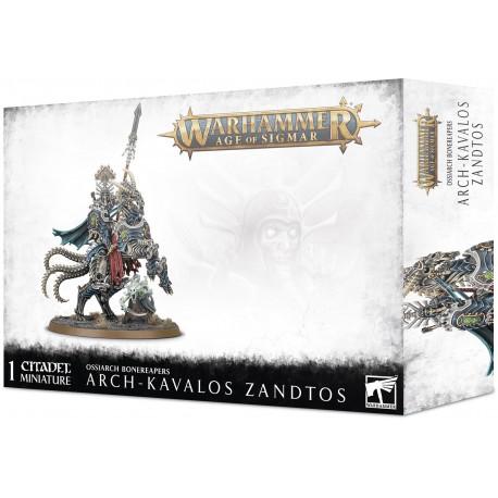 Arch-Kavalos Zandtos, Dark Lance of Ossia