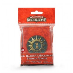 Lady Harrow's Mournflight Premium Sleeves (fundas)
