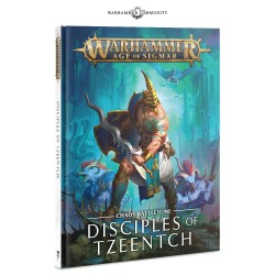 Battletome: Disciples of Tzeenth (español)