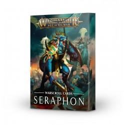 Warscroll Cards: Seraphon (Inglés)