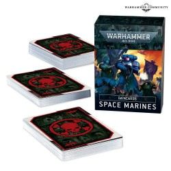 Datacards: Space Marines (Abr./Hb) (Español)