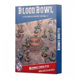 Blood Bowl Necromantic Team Pitch