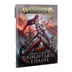 Battletomeome: Daughters Of Khaine Abr. Esp