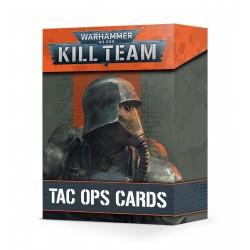 Kill Team: Cartas de operaciones tacticas