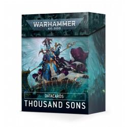 Datacards: Thousand Sons (Inglés)