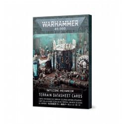 Battlezone Mechanicum: Terrain Cards Español