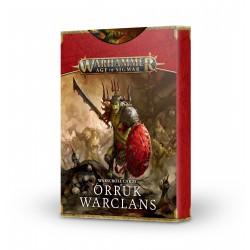 Tarjetas de datos Orruk Warclans