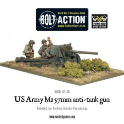 US Army 57mm Anti-Tank Team
